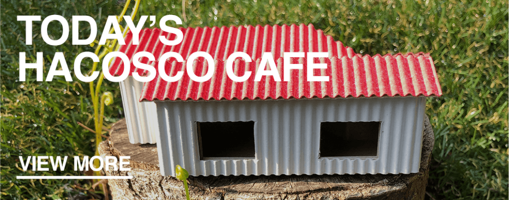 今日のハコスコカフェ